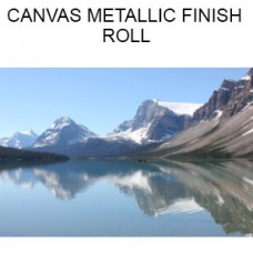 Canvas Metallic Finish  Roll  (Inches)