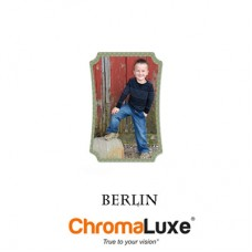 BERLIN Creative Borders Aluminum Photo Panels, Gloss White, ChromaLuxe HD