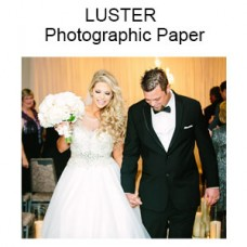 LUSTER Custom Size - Premium Professional Quality Photographs (Inches)