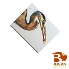 "Bison® Ceramic Tile, Gloss, 6.0313"" x 7.875"" x .25""."